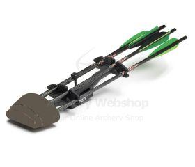 Excalibur Quiver 4-Arrow Black