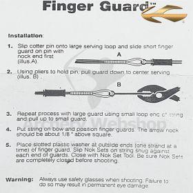 Saunders Finger Guard 1729 Set