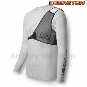 Easton Chestguard Diamond Black & White