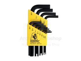 Bondhus Allen Wrench Set Inches