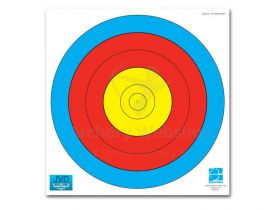 JVD Target Face Fita 80 cm Centre 5-Ring Woven Paper