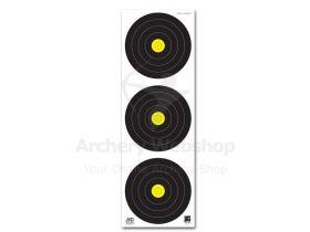 JVD Target Face Field 3x20 cm Vertical Woven Paper