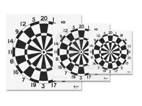 JVD Target Face Dart 60 cm Woven Paper