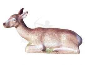 Eleven Target 3D Lying Deer Dark