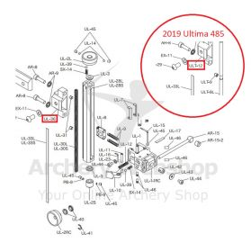 Shibuya Sight Parts UL-36 Carbon Extender Bracket
