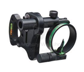 TruGlo Sight Pendulum 1-Pin Adjst Brkt .029 Black