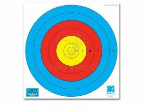 JVD Target Face Fita 80 cm Centre 6-Ring Woven Paper