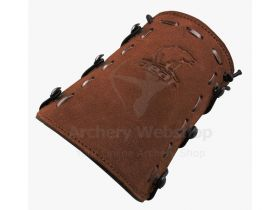 Bear Archery Logo Leather Armguard