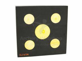 Eleven Target 125 x 125cm + 4 x 24.5cm + 1 x 37.5cm