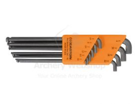 Easton Allen Wrench Set Pro Stubby Clam Pack