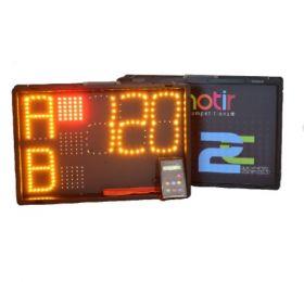Chronotir 2C Two Display One Remote Control