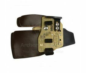 AAE Arizona Olympic Recurve FingerTab KSL Gold Super Leather