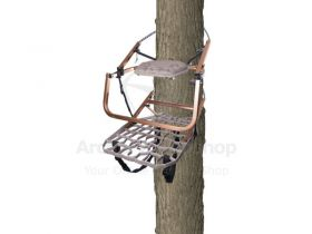 Lone Wolf Climber Treestand Flip-Top Wide Combo