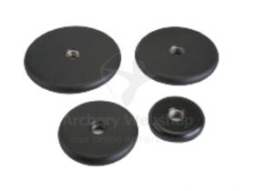 Shrewd Stainless Steel Flat Black Weight