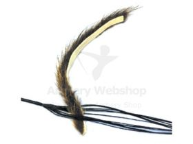 White feather String Silencer