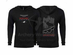 Black Eagle Shirt Long Sleeve Next Level Triblend