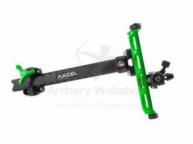 Axcel Sight Achieve XP Carbon Bar Recurve 9 Inch