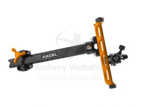 Axcel Sight Achieve XP Carbon Bar Recurve 9 Inch
