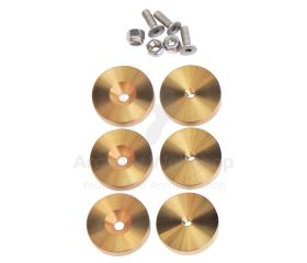 Gillo Weight Kit G4 Stainless Steel Titanium Gold Plated
