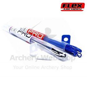 Flex Archery Bowstring Carrera99R Red-White-Blue