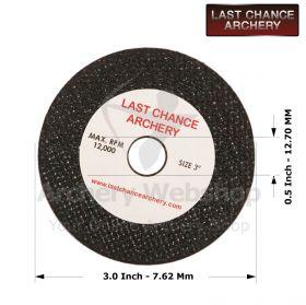 Last Chance Archery Cut Off Wheel