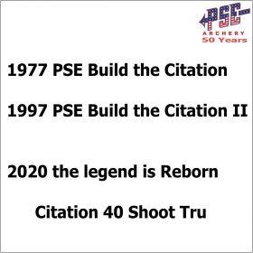 PSE Compound Bow Citation 40 SE 2021