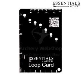 Essentials Archery D - Loop Card