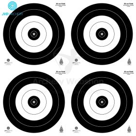 JVD Products Target Faces IFAA Field 4 x 20 cm