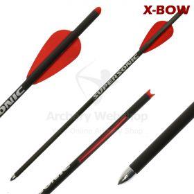 X-Bow FMA Supersonic Bolt Carbon Standard 111gr