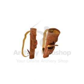 Buck Trail Back Quiver Small Indian Buckskin 41 cm