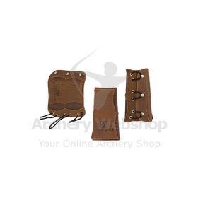 Buck Trail Armguard Velvet 16 cm Soft Leather
