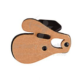 Bearpaw Archery Leather tab with finger seperator