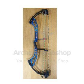 Used PSE RH Supra Max 2043432960 50 Pound ME Cam 25-30 inch Blue