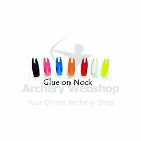 Placing Arrow Nock Glue