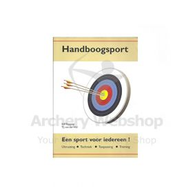 Starter Book -Dutch- Handboogsport voor iedereen Herman Repping - with the signature of the writer