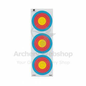 Decut 40 Cm 80 Gram 3-Spot Vertical - Dutch Target
