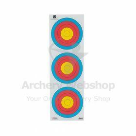 Decut 40 Cm 80 Gram 3-Spot Vertical Recurve - Dutch Target