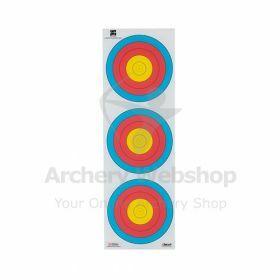 Decut 60 Cm 80 Gram 3-Spot Vertical - Dutch Target