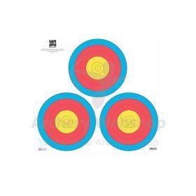 Decut 40 Cm 80 Gram 3-Spot Vegas Standard 5 Rings
