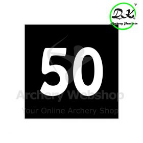 Dongs-Key Archery Range Out Fit Distance Numbers