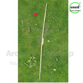 Used Traditional Long Bow DB Bows 72 Inch 28 Lbs