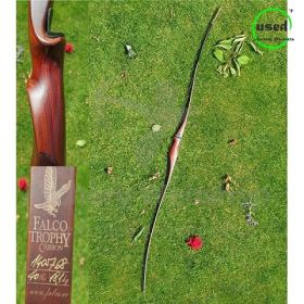Used Traditional Long Bow LH Falco Vintage Carbon 68 Inch 40 Lbs