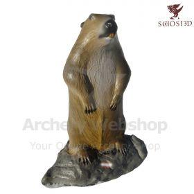 Schosi 3D Target Marmot