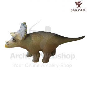 Schosi 3D Target Little Triceratops