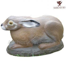 Schosi 3D Target Brown Hare