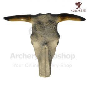 Schosi 3D Target Bull Skull