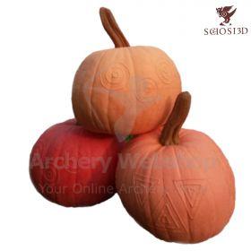 Schosi 3D Target Pumpkin Witn No Motif One Piece