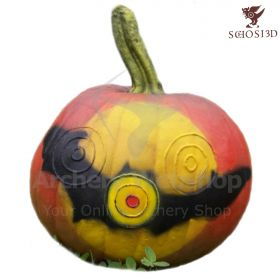 Schosi 3D Target Pumpkin With Bat Motif One Piece