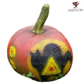Schosi 3D Target Pumpkin With Cat Motif One Piece