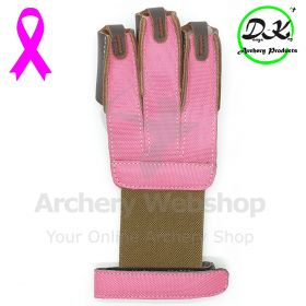 Dongs-Key Shooting Glove Pink Ribon Leather
